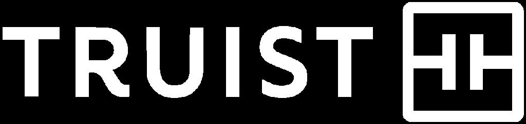 White Truist Logo